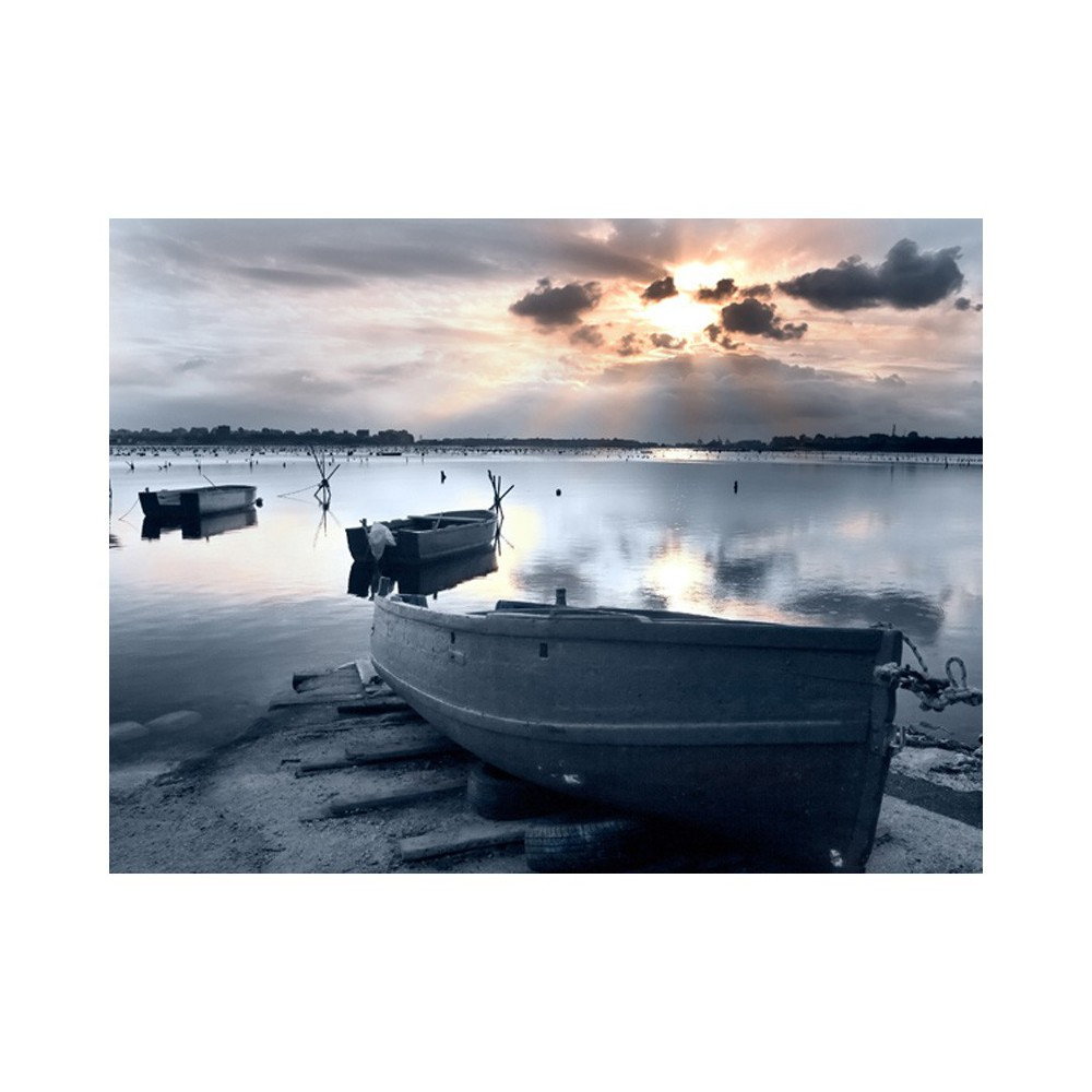 Fototapeta - Little port boats