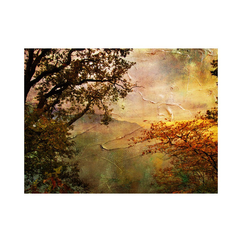 Fototapeta - Painted autumn