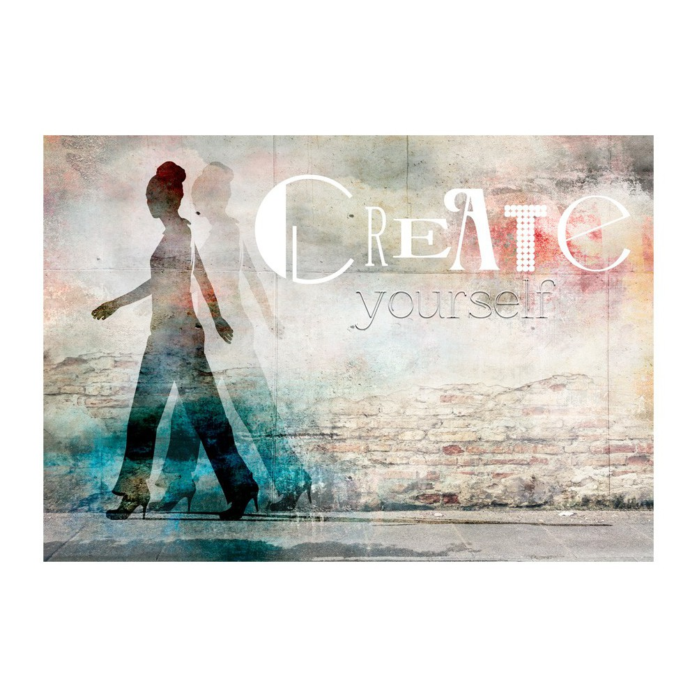 Fototapeta - Create yourself